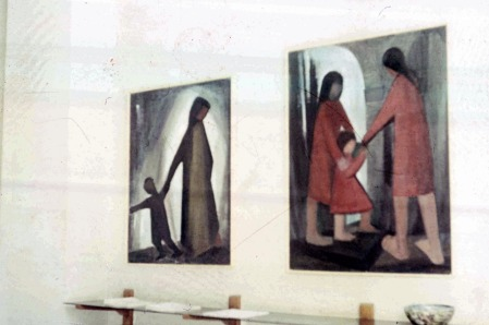 Βασίλης Σίμος , Έκθεση Ζωγραφικής στην Αθήνα 1966 στην γκαλερί Νέες Μορφές.