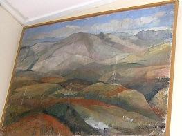 Βασίλης Σίμος Σιερα Νεβάδα 1959 Λάδι σε μουσαμά 70x100