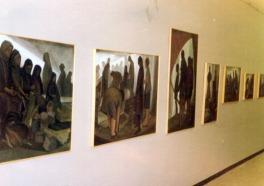 1979 Φουαγιέ Δημ. Θεάτρου Λαμίας Απόψεις από την έκθεση