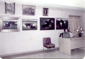 1984 Αποψη από το Φουαγιέ του Δημοτικού Θεάτρου