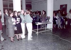1984 Άποψη από τα εγκαίνια της έκθεσης