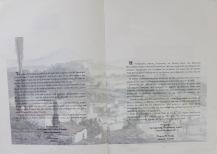 """Ο πρόλογος του τότε Δημάρχου Λαμιέων Γιώργου Ντελή απο το βιβλίο-λεύκωμα """"Βασίλης Σίμος"""" έκδοση της Δημοτικής Πινακοθήκης Λαμίας"""