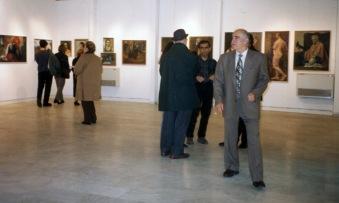 Λαμία 1997 – Αναδρομική Εκθεση στην Δημοτική Πινακοθήκη Λαμίας , Απόψεις από την έκθεση (Αρχείο Βασίλη & Φιορινας Σίμου)