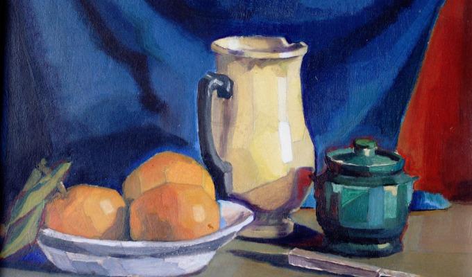 Το ξεκίνημα στην ζωγραφική – οι πρώτεςσπουδές