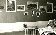 Λαμία 1959 – Αίθουσα Νομαρχίας Φθιώτιδας , Απόψεις από την έκθεση (Αρχείο Βασίλη & Φιορινας Σίμου)