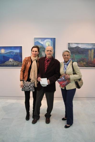 2012 Ο Βασίλης Σίμος με την συμφοιτήτριά του Pilar Muro Navarro και την κόρητης Raquel Gordon Muro (από το αρχείο Βασίλη και Φιορίνας Σίμου)